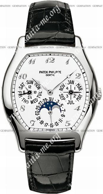 Patek Philippe Complicated Perpetual Calendar Mens Wristwatch 5040G-018