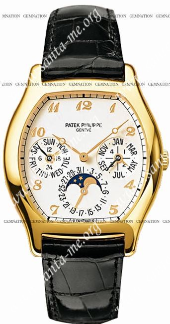 Patek Philippe Complicated Perpetual Calendar Mens Wristwatch 5040J-015