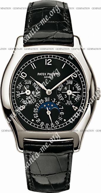 Patek Philippe Complicated Perpetual Calendar Mens Wristwatch 5040P-013