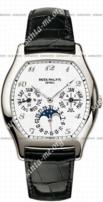Patek Philippe Complicated Perpetual Calendar Mens Wristwatch 5040P-014
