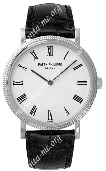 Patek Philippe Calatrava Mens Wristwatch 5120G