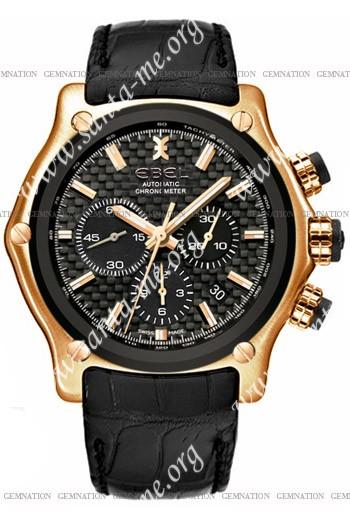 Ebel 1911 BTR Chronograph Mens Wristwatch 5137L73.15335145
