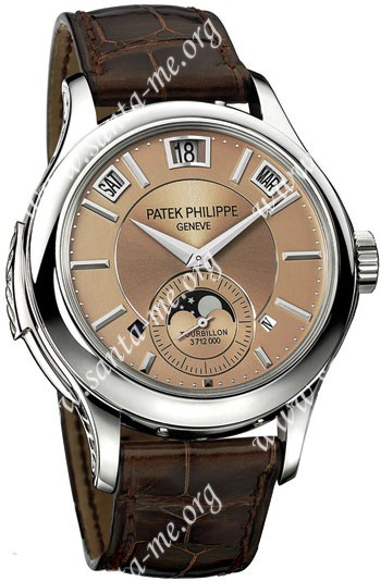 Patek Philippe Complicated Annual Calendar Tourbillon Mens Wristwatch 5207P