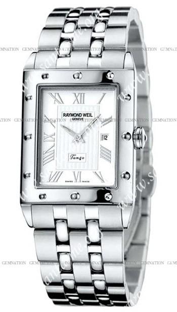 Raymond Weil Tango Mens Wristwatch 5381-ST-00658