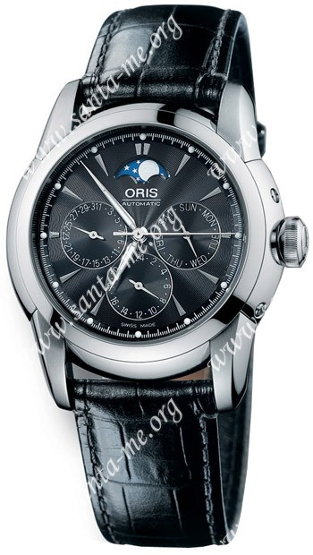 Oris Artelier Mens Wristwatch 581.7546.40.54.LS