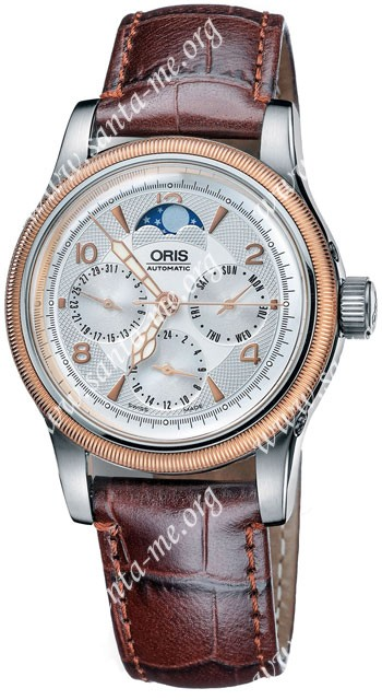 Oris Big Crown Complication Mens Wristwatch 581.7566.43.61.LS