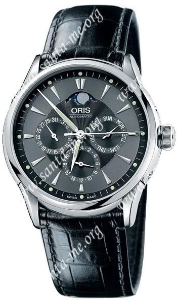 Oris Artelier GMT Mens Wristwatch 581.7592.40.54.LS