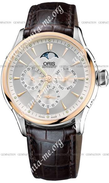 Oris Artelier Complication Mens Wristwatch 581.7592.6351.LS