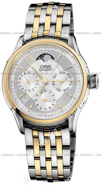 Oris Artelier Complication Mens Wristwatch 581.7606.43.51.MB
