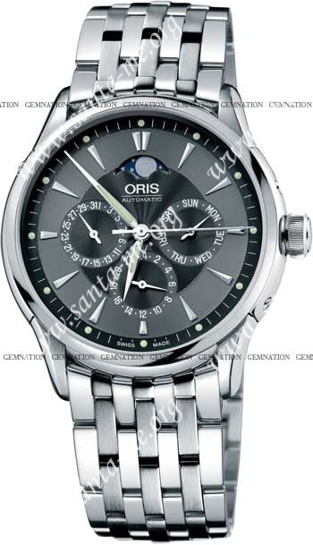 Oris Artelier GMT Mens Wristwatch 58175924054MB