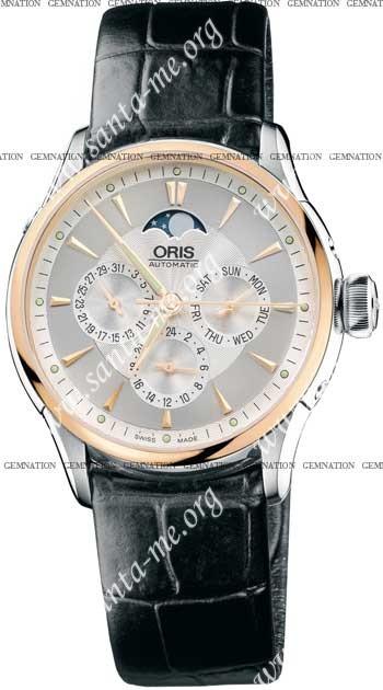 Oris Artelier Complication Mens Wristwatch 58176066351LS