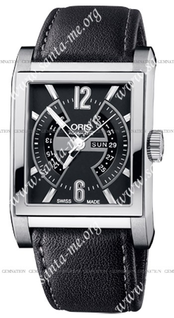 Oris Rectangular Titan Mens Wristwatch 585.7622.7064.LS