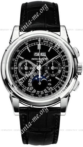 Patek Philippe Chronograph Perpetual Calendar Mens Wristwatch 5970P