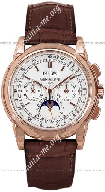 Patek Philippe Chronograph Perpetual Calendar Mens Wristwatch 5970R
