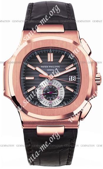 Patek Philippe Nautilus Mens Wristwatch 5980R-001