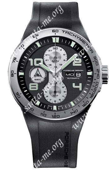 Porsche Design Flat Six Automatic Chronograph Mens Wristwatch 6340.41.44GB