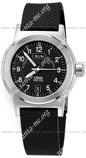 Oris BC3 Day Date Mens Wristwatch 635.7500.41.64.RS
