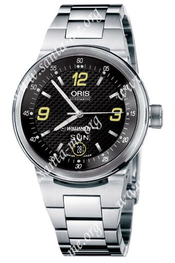 Oris WilliamsF1 Team Day Date Mens Wristwatch 635.7560.41.42.MB