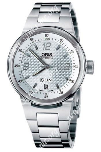 Oris WilliamsF1 Team Day Date Mens Wristwatch 635.7560.41.61.MB