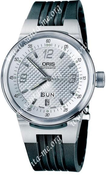 Oris WilliamsF1 Team Day Date Mens Wristwatch 635.7560.41.61.RS