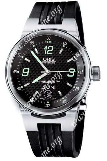 Oris WilliamsF1 Team Day Date Mens Wristwatch 635.7560.41.64.RS