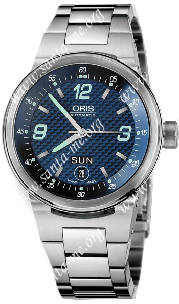 Oris WilliamsF1 Team Day Date Mens Wristwatch 635.7560.41.65.MB