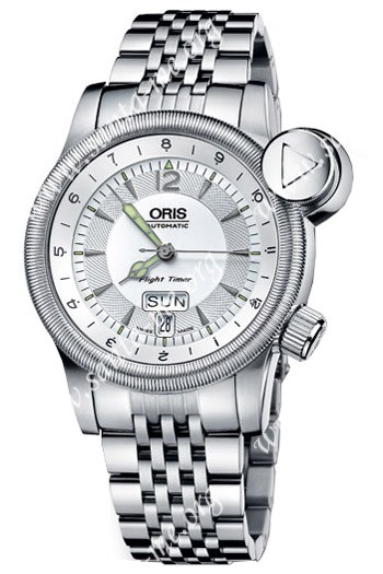 Oris Flight Timer2 Mens Wristwatch 635.7568.40.61.MB