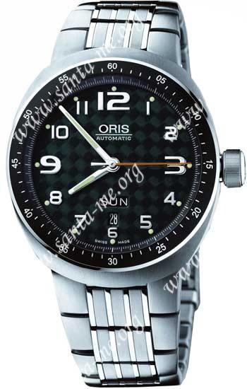 Oris TT3 Day Date Mens Wristwatch 635.7588.70.67.MB
