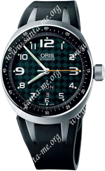 Oris TT3 Day Date Mens Wristwatch 635.7588.70.67.RS
