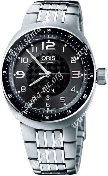 Oris TT3 Day Date Mens Wristwatch 635.7589.70.64.MB