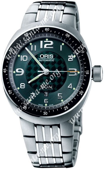 Oris TT3 Day Date Mens Wristwatch 635.7589.70.67.MB