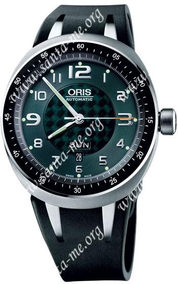 Oris TT3 Day Date Mens Wristwatch 635.7589.70.67.RS