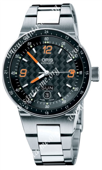 Oris WilliamsF1 Team Day Date Mens Wristwatch 635.7595.41.94.MB