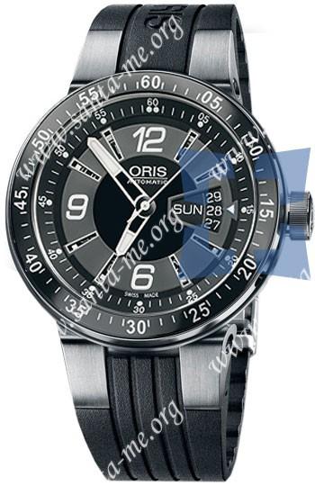 Oris WilliamsF1 Team Day Date 2008 Mens Wristwatch 635.7613.41.64.RS