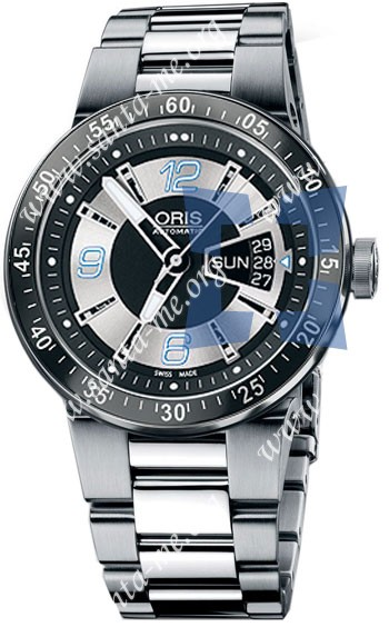 Oris WilliamsF1 Team Day Date 2008 Mens Wristwatch 635.7613.41.74.MB
