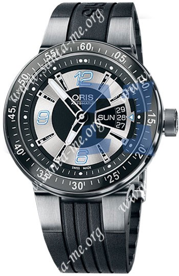 Oris WilliamsF1 Team Day Date 2008 Mens Wristwatch 635.7613.41.74.RS