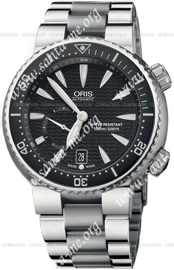 Oris Divers Small Second Date Mens Wristwatch 643.7637.74.54.MB
