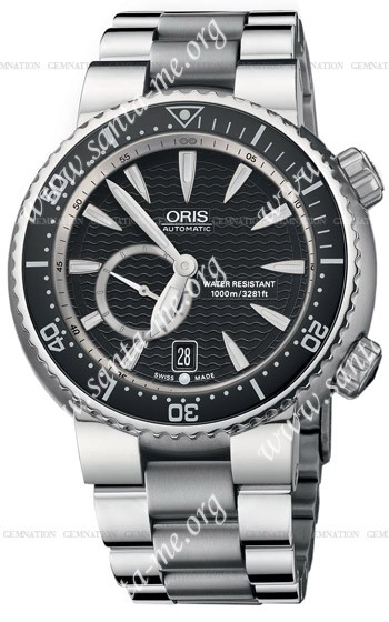 Oris Divers Small Second Date Mens Wristwatch 643.7638.74.54.MB