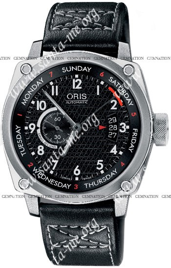 Oris BC4 Pointer Date Mens Wristwatch 64576174164LS