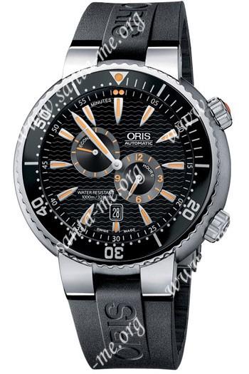 Oris Der Meistertaucher Divers Regulator Mens Wristwatch 649.7610.71.64.Set