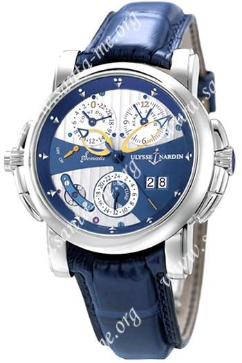 Ulysse Nardin Sonata Mens Wristwatch 660-88-213