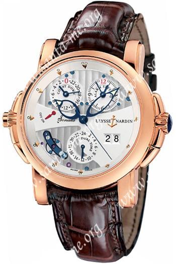 Ulysse Nardin Sonata Mens Wristwatch 666-88