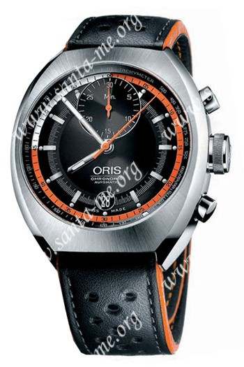 Oris Chronoris Mens Wristwatch 672.7564.41.54.LS