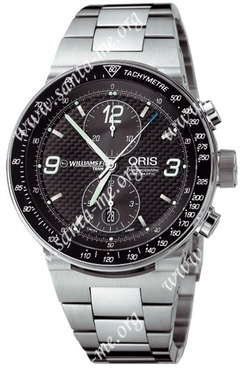 Oris WilliamsF1 Team Chronograph Mens Wristwatch 673.7563.41.84.MB