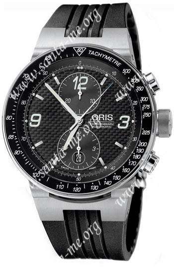 Oris WilliamsF1 Team Chronograph Mens Wristwatch 673.7563.41.84.RS