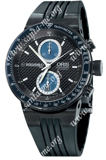 Oris WilliamsF1 Team Chronograph Mens Wristwatch 673.7563.47.54.RS