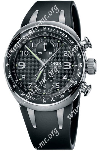 Oris Williams TT3 Chronograph L.E. Mens Wristwatch 673.7587.70.84.RS