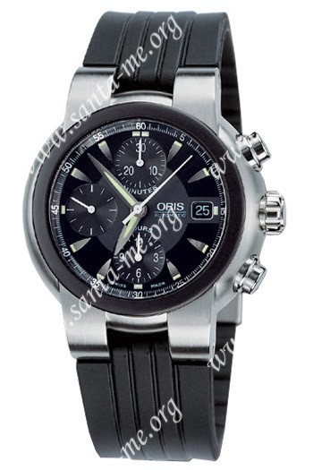 Oris TT1 Chronograph Mens Wristwatch 674.7521.44.64.RS