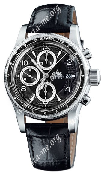 Oris Big Crown Chronograph Telemeter Mens Wristwatch 674.7569.40.64.LS