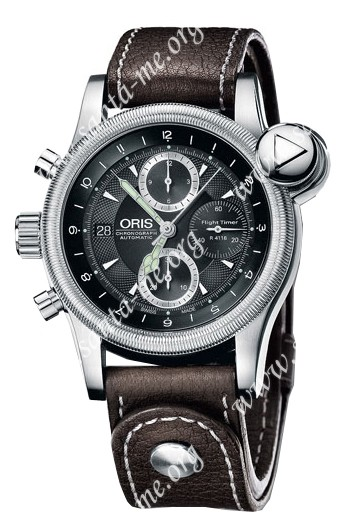 Oris Flight Timer R4118 Limited Edition Mens Wristwatch 674.7583.40.84.LS